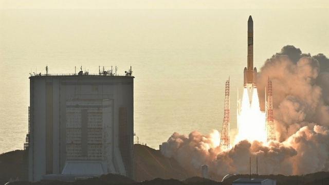 Япония запустила четвёртый спутник для создания собственной GPS