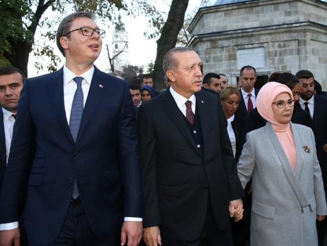 Эрдоган и Вучич обсудили «Турецкий поток» и товарооборот Турции и Сербии