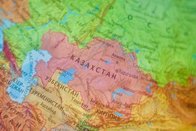 8 Казахстан на карте мира