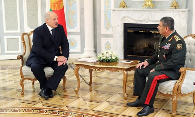 Встреча Александра Лукашенко с Закиром Гасановым