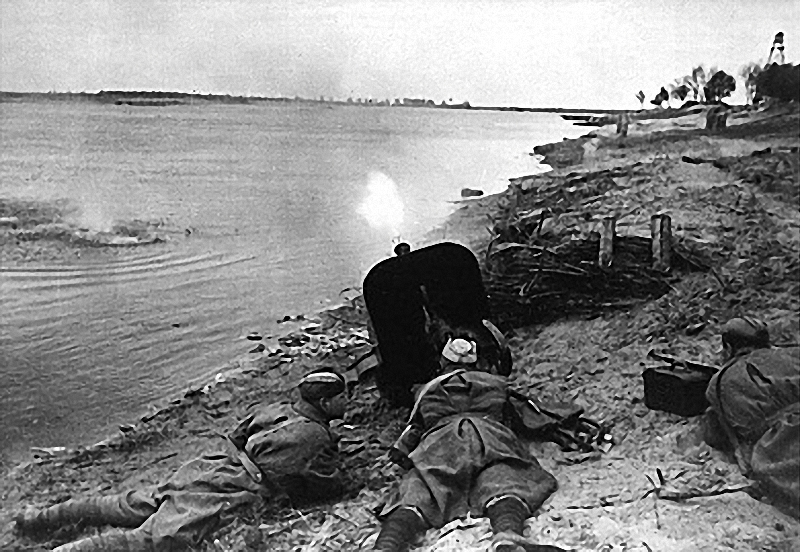 На днепровских рубежах. Освобождение Днепропетровска. 1943