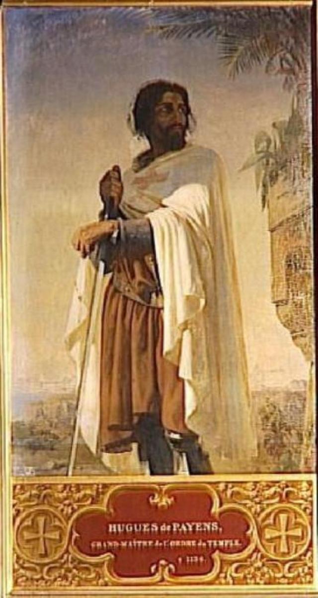 Гуго де Пейн. Первый магистр ордена