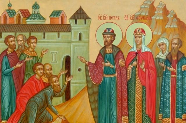 В Москве планируют поставить памятник православным святым Петру и Февронии