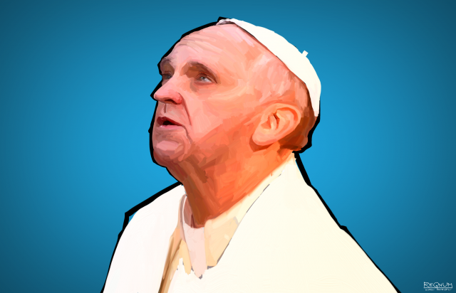 Папа Римский: За конфликтами на Ближнем Востоке и Украине стоит дьявол