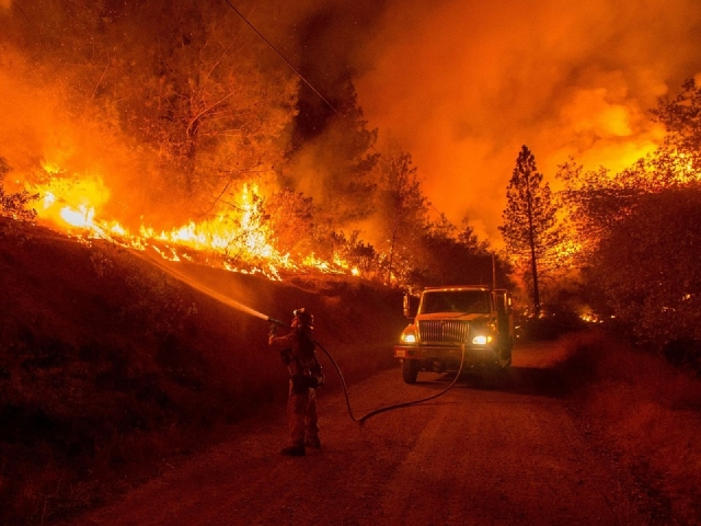 Лесной пожар в Калифорнии стал «самым смертельным» с 1933 года