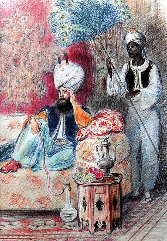 Турецкая сказка ашик кериб картинки к сказке