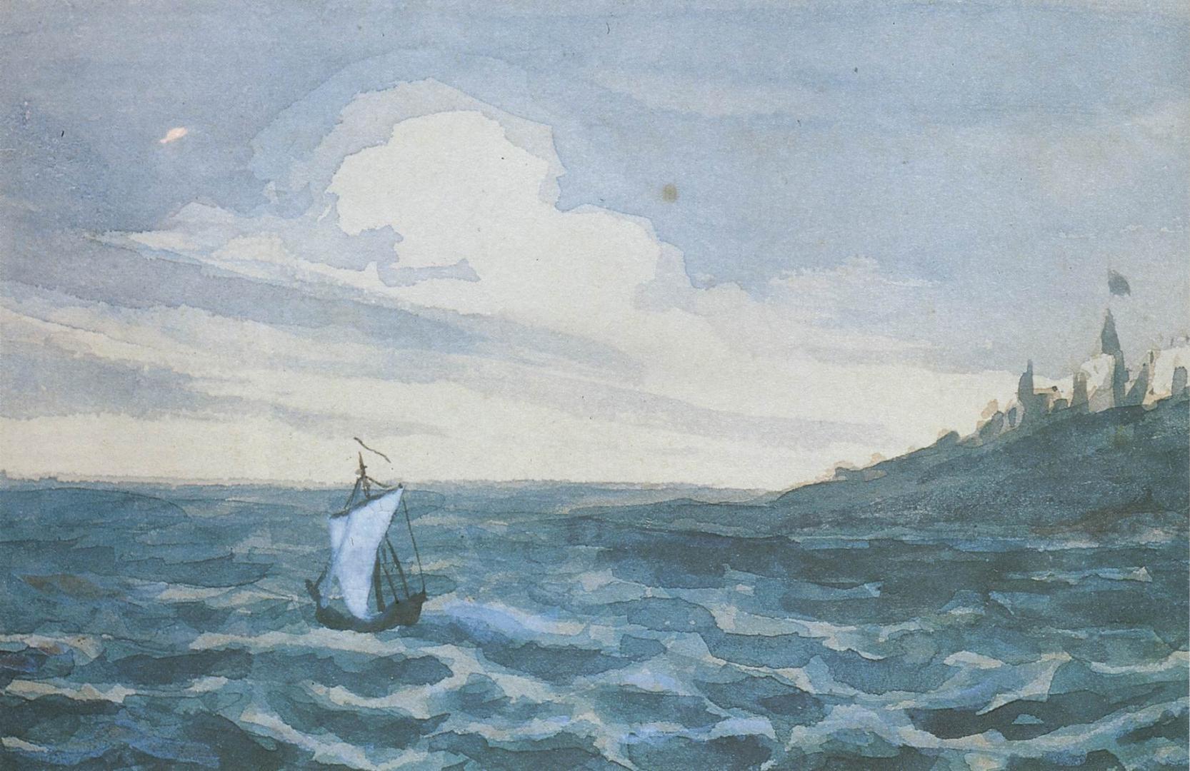 Лермонтова море картинки