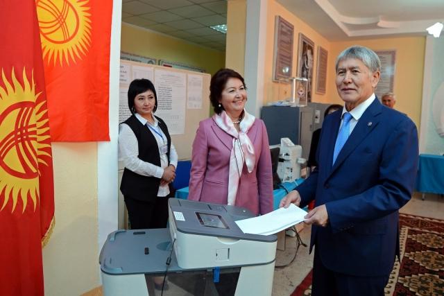 В Киргизии проходят выборы президента республики