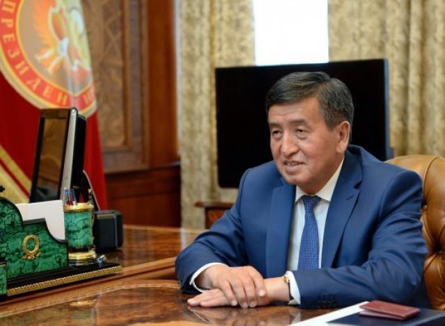 Си Цзиньпин поздравил Жээнбекова с победой на выборах президента Киргизии