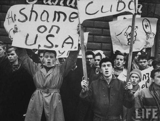 Протесты в СССР