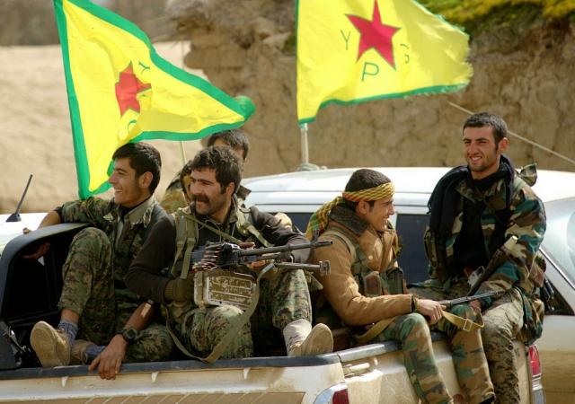Курдские ополченцы