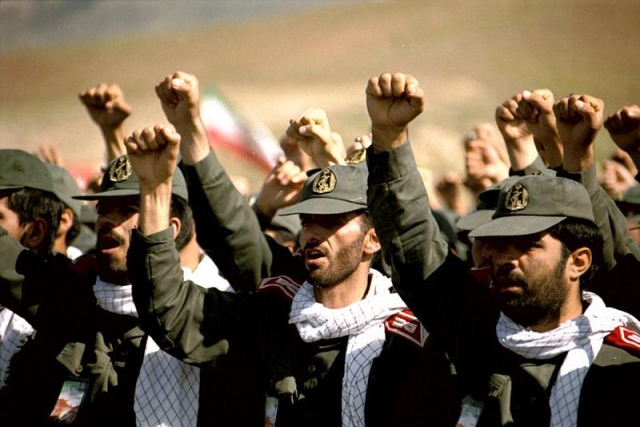 Солдаты КСИР. Иран