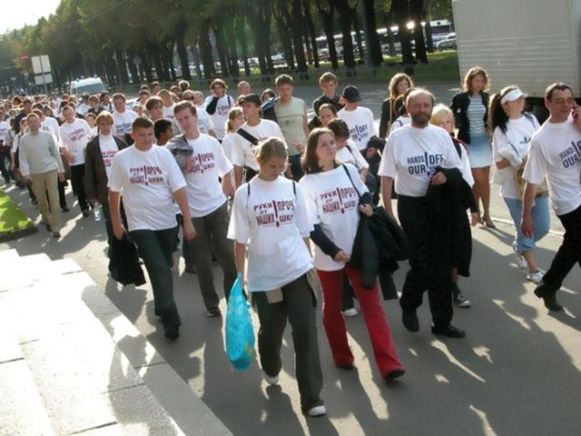 Шествие в защиту русских школ