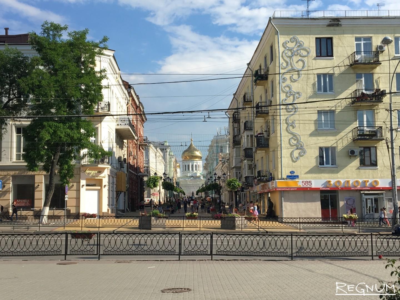 Вид на Соборную площадь