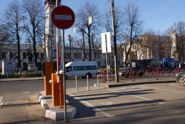 В Ярославле платные парковки стали бесплатными