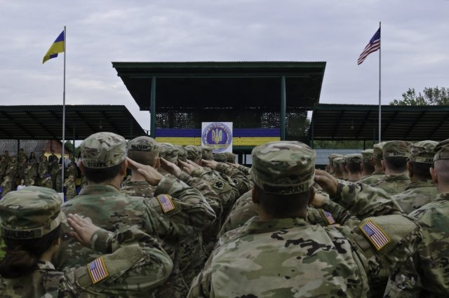 Солдаты США на Украине
