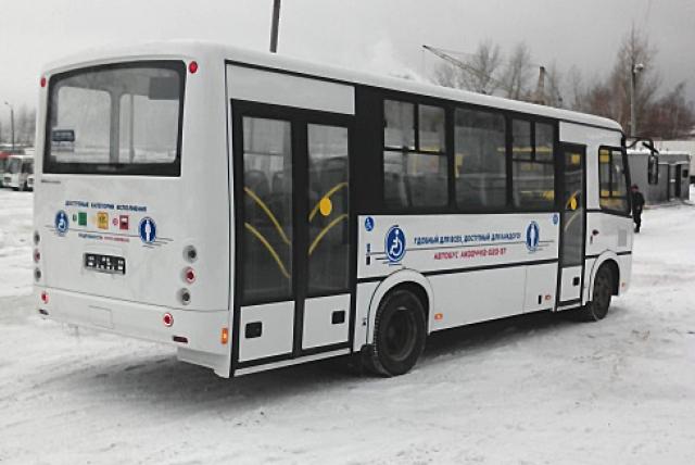 Автобус ГУП ЧР «Чувашавтотранс» для маломобильных граждан