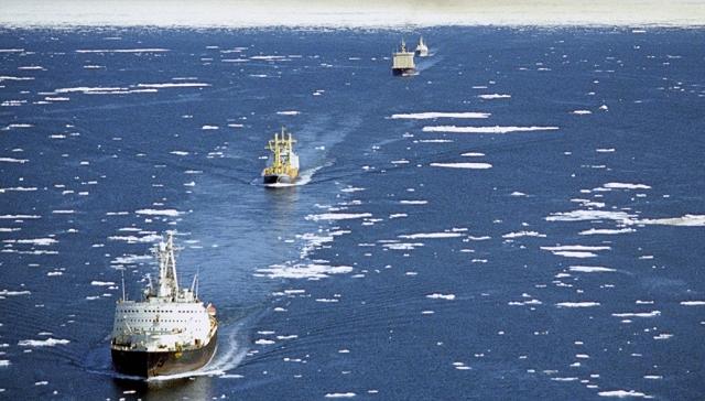 «Росатом» и Минтранс конкурируют за Северный морской путь