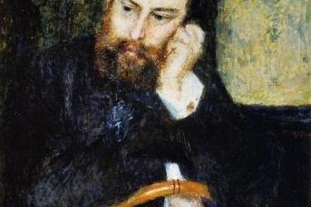 Портрет Альфреда Сислея