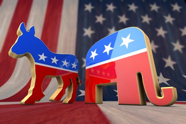 Республиканская и Демократическая партии США