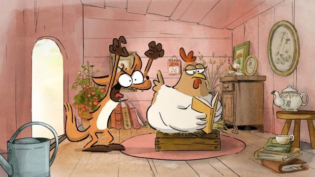 Французский лис покорил русских ценителей анимационного кино