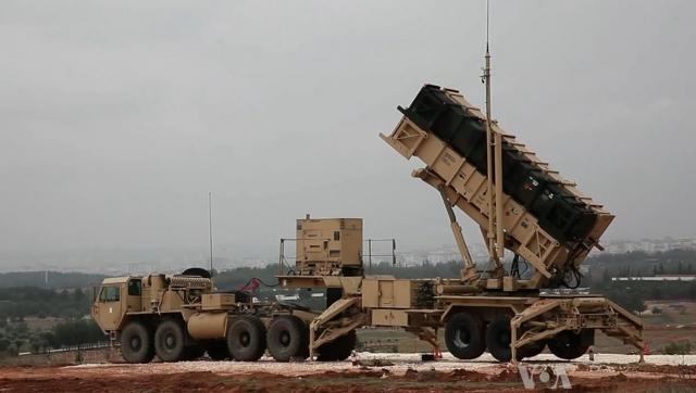 Система противоракетной обороны НАТО в Турции против Сирии
