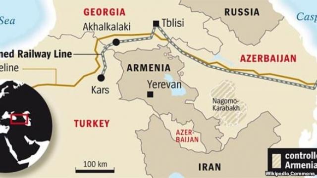 Баку — Тбилиси — Карс оставляет Армению вне игры?