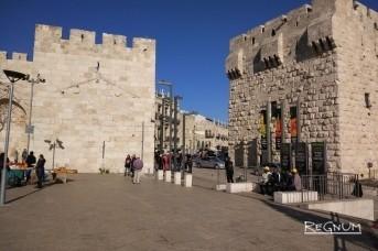 Яфские ворота. Иерусалим