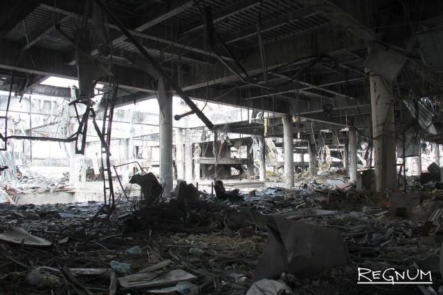 Руины гражданской войны на Украине