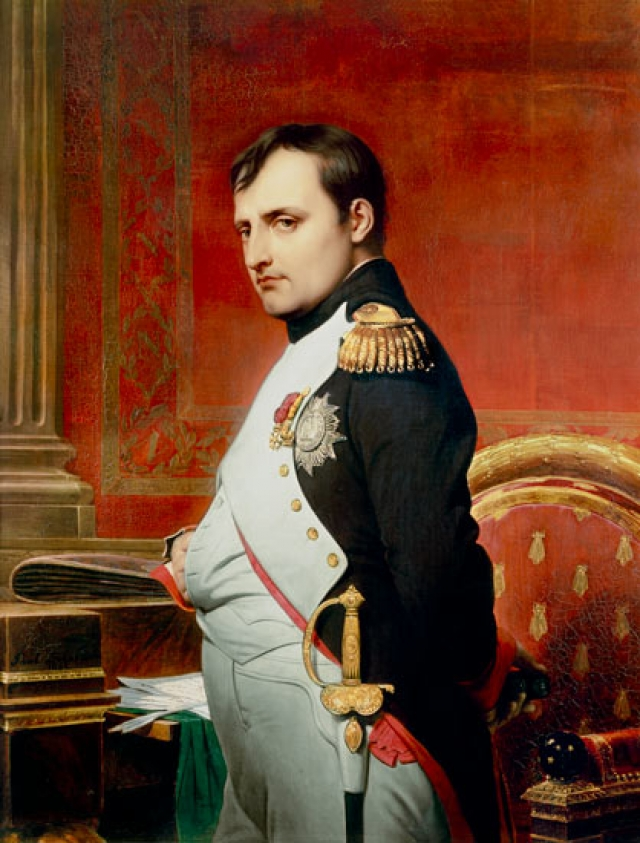 a biography of little corsican napoleon bonaparte