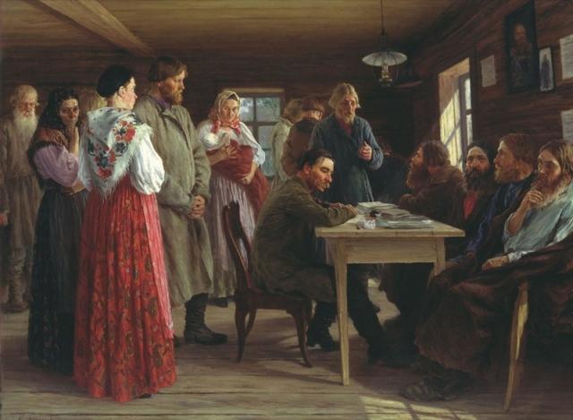 М. И. Зощенко. Волостной суд. 1888