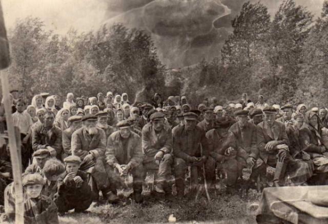 Сельский сход. Бугурусланский уезд Самарская губерния. 1900—1903