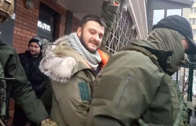 Задержание сына Авакова