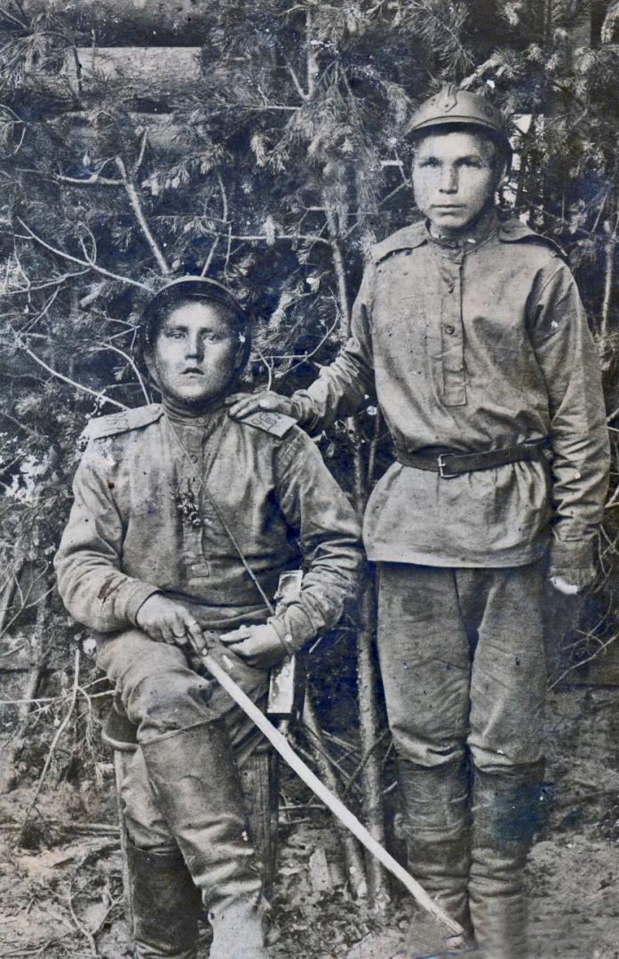 Рядовые из Чувашии на передовой Первой мировой войны. 160-ый пехотный полк