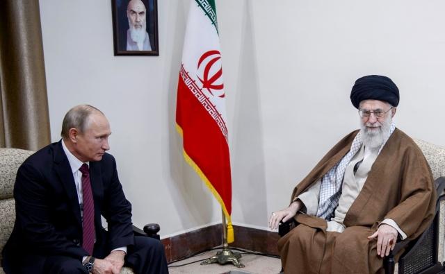 Владимир Путин и Али Хаменеи