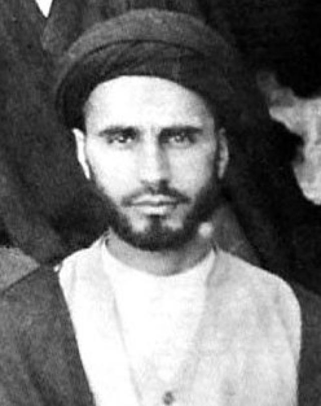 Рухолла Хомейни в молодости
