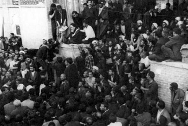 Выступление Рухолла Хомейни в школе Фейзие, 3 июня 1963 года, Кум