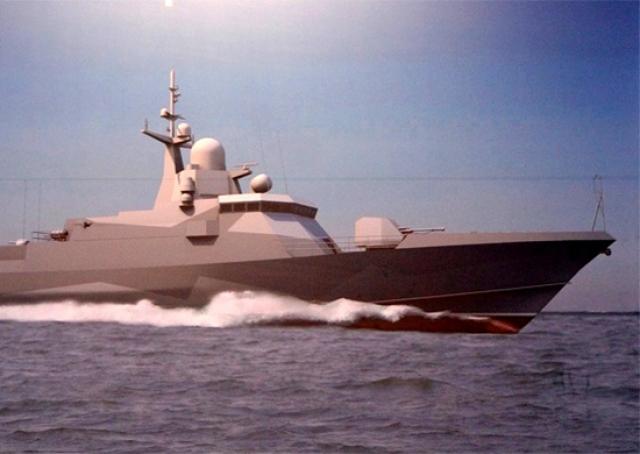 Ракетный корабль «Тайфун» проекта «Каракурт» спустят на воду в ноябре