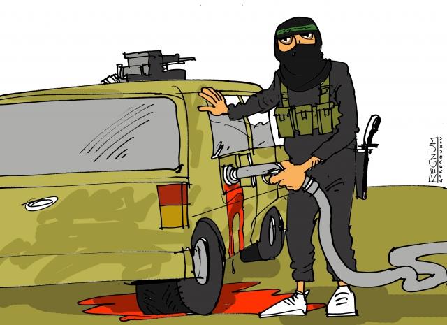 Главарь ИГ* перебрался на такси из Ирака в Сирию