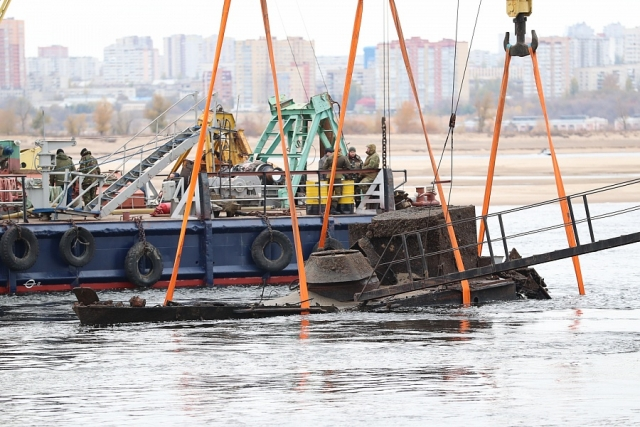 Восстановление поднятого со дна судна