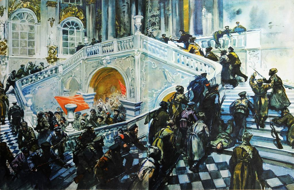 Аркадий Лурье. Керенский бежал!... 1967