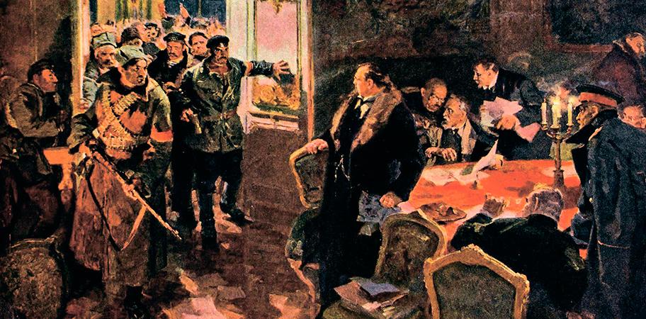 Александр Лопухов. Арест Временного правительства