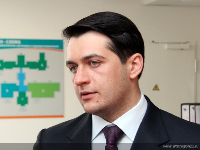 Депутат госдумы от Алтайского края Александр Прокопьев