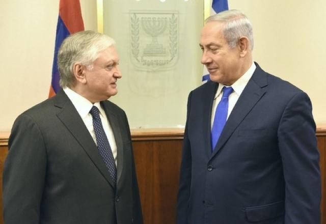Нетаньяху: Израиль готов расширять отношения с Арменией