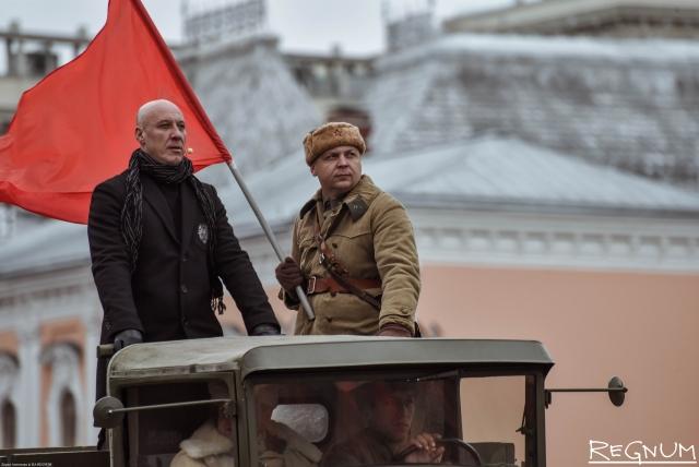 Парад на Красной площади 7 ноября 2017
