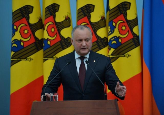 Игорь Додон: Большинство молдаван хотят сотрудничать именно с ЕАЭС