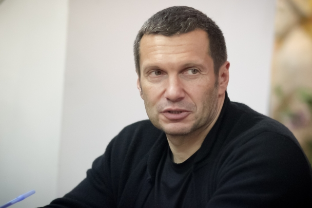 Соловьев: Смешно обсуждать слова Собчак о Крыме