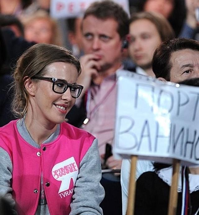 Собчак оправдывается за свои слова об антироссийских санкциях