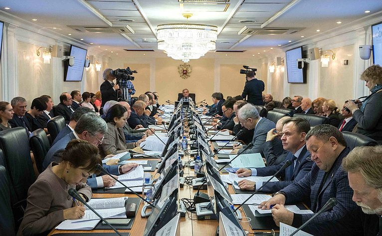 Заседание президиума Совета по Арктике и Антарктике при Совете Федерации