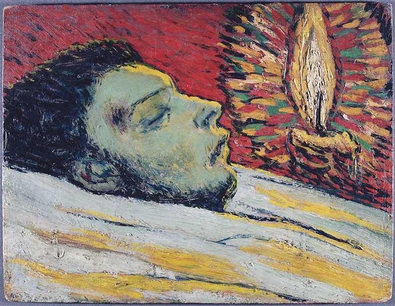 Пабло Пикассо. Смерть Касагемаса. 1901